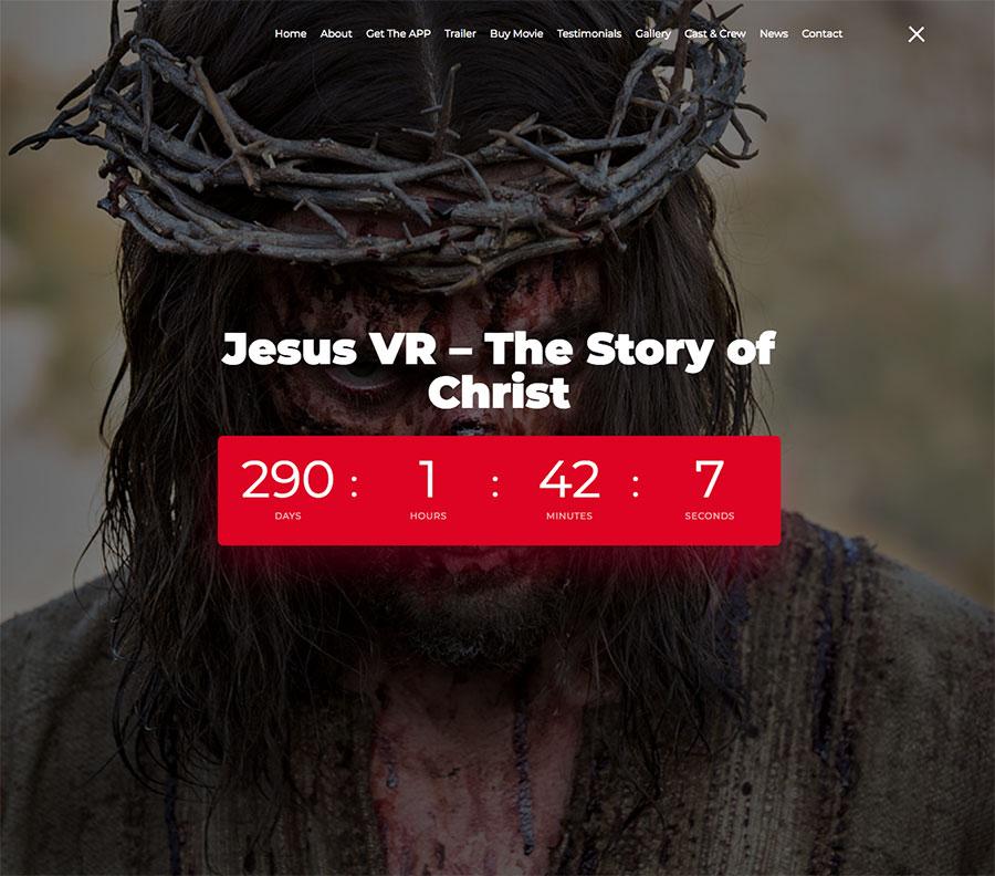 JesusVR-Website